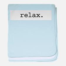 relax.jpg baby blanket