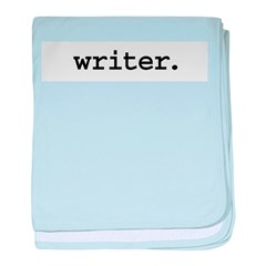 writer.jpg baby blanket