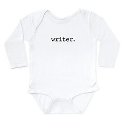 writer.jpg Long Sleeve Infant Bodysuit
