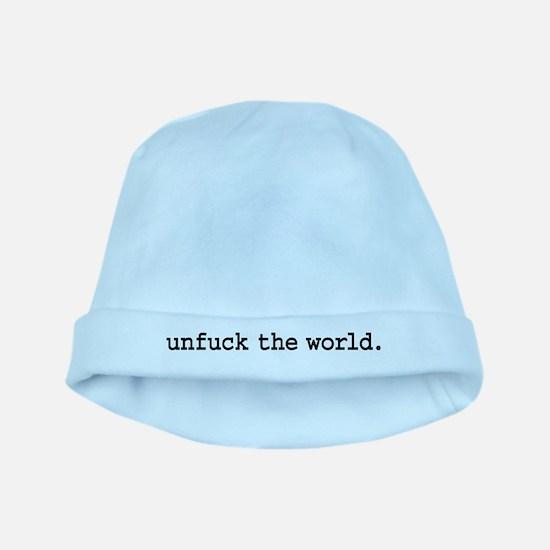 unfucktheworldblk.png baby hat