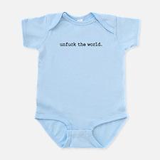 unfucktheworldblk.png Infant Bodysuit