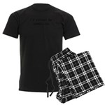 idratherbegamblingblk.png Men's Dark Pajamas