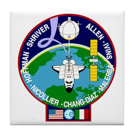STS-46 Atlantis Tile Coaster