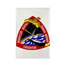 STS-48 Discovery Rectangle Magnet
