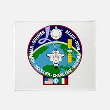 STS-46 Atlantis Throw Blanket