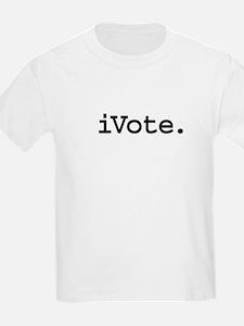 iVoteblk.png T-Shirt