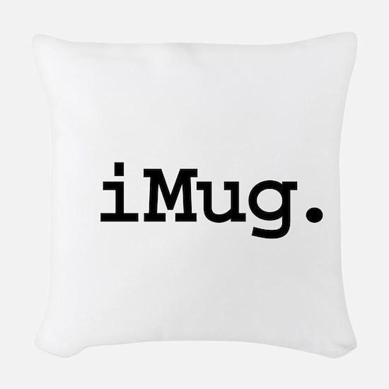 iMugblk.png Woven Throw Pillow