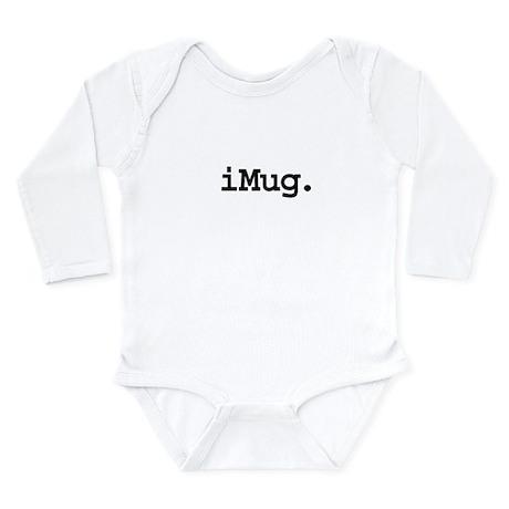 iMugblk.png Long Sleeve Infant Bodysuit