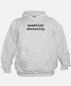 questionauthorityblk.png Hoodie