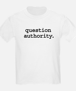 questionauthorityblk.png T-Shirt