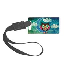 My Crescent Owl Luggage Tag