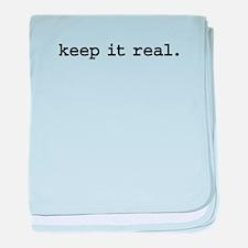 keepitrealblk.png baby blanket