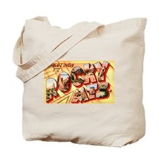 Rocky Mountains Greetings Tote Bag