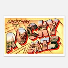 Rocky Mountains Greetings Postcards (Package of 8)