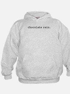 chocolaterainblk.png Hoodie