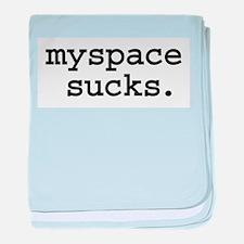 myspacesucksbutton.jpg baby blanket
