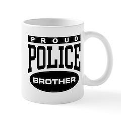 Proud Police Brother Mug