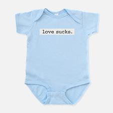 lovesucks.jpg Infant Bodysuit