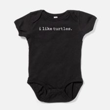 iliketurtles.jpg Baby Bodysuit