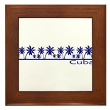 Cute Castro Framed Tile