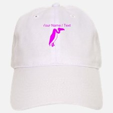 Custom Pink Vulture Silhouette Hat