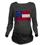 Georgia.png Long Sleeve Maternity T-Shirt