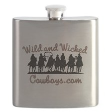 Wild and Wicked Flask
