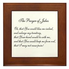 The Prayer of Jabez Framed Tile