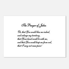 The Prayer of Jabez Postcards (Package of 8)