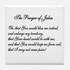 The Prayer of Jabez Tile Coaster