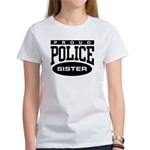 Proud Police Sister Women's T-Shirt