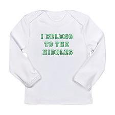 Hiddles Fangirling Shirt Long Sleeve T-Shirt