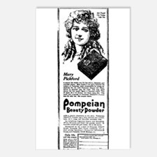 Mary Pickford advertising Postcards (Package of 8)