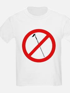 nomorehoesblk.png T-Shirt