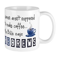 Bible Says Hebrews Mug