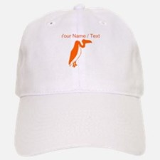 Custom Orange Vulture Silhouette Hat
