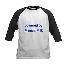 powered by Mamas Milk Baseball Jersey