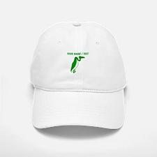 Custom Green Vulture Silhouette Hat