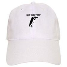 Custom Black Vulture Silhouette Hat