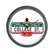 College St., Toronto - Canada Wall Clock