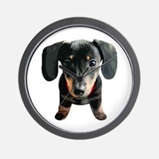 Dachshund001 Wall Clock