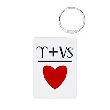 Aries + Capricorn = Love Keychains