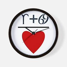 Aries + Cancer = Love Wall Clock