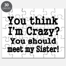 You think Im Crazy Puzzle