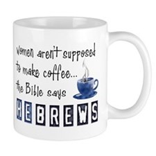Bible Says Hebrews Small Mug
