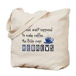 Bible Says Hebrews Tote Bag