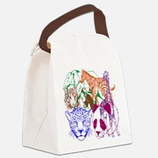 Jungle Beings Canvas Lunch Bag