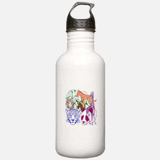 Jungle Beings Water Bottle
