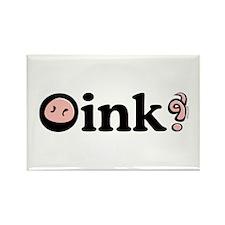 Oink! Rectangle Magnet (100 pack)