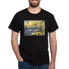 Fallen Leaf Boat Dock T-Shirt